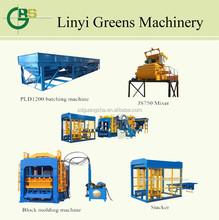 QT8-15 hot selling and automatic block making machine,brick making machine price list