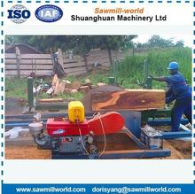 popular cnc wood machine carriage machine circular cutting machine log sawmill
