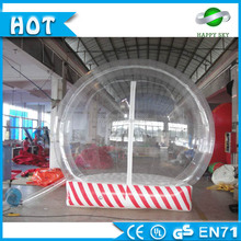 Top selling inflatable snow globe,inflatable snow globe,roll inside inflatable ball