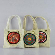 cheap price National wind restoring vintage shoulder bag female canvas ethnic factory wholesale bag popular shoulder bags