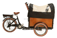 New design Denish Holland cargo coffee bike 3 wheel taxi motorcycle