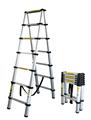3.8m 13 pasos escalera telescópica de aluminio en131 con el ce y sgs