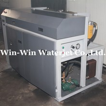 380Mpa PLC intnsifier pump suit for stone marble stain steel waterjet cutting machine