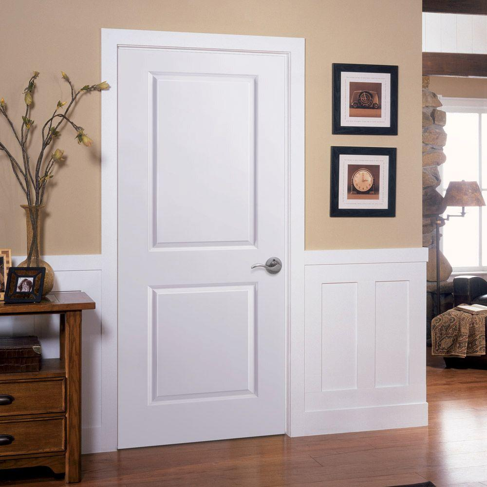 Classic Wooden Double Door For Apartment. A