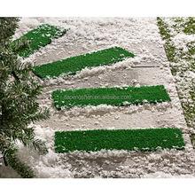 Snow Non-slip door mat ,winter weather snow safety non slip door mat set of 4