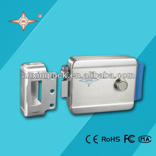 fail secure Electric stainless steel door lock with rolling latch electronic lock