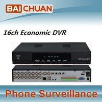 16ch H.264 Real Time DVR Support 3G