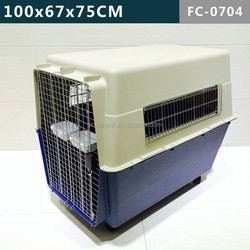 Biggest stainless steel door pet cage dogs& cats traveling Carrier /cage/ house