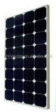 100W 12V Monocrystalline silicon solar panel with sunpower cell for RV, Boat, street light