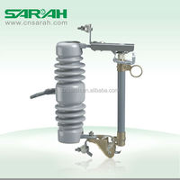 outdoor 15KV Porcelain type 100A high voltage fuse cutout switch