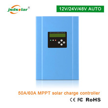Advanced off grip LCD display 24v 60amp MPPT solar energy system controller