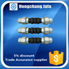 Factory surplus stock dual ball thread union flexible rubber joints
