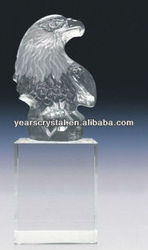 Fred Curtis crystal Eagle Sculpture(R-2012)