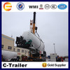 High Quality Chengda top brand trailer company 3 axles bulk cement trailer sale