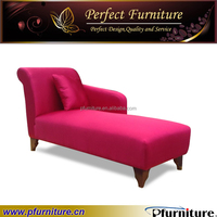 Fabric simple indoor chaise lounge PFS1574