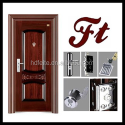china new model best price gate designs for homes high quality steel security doors