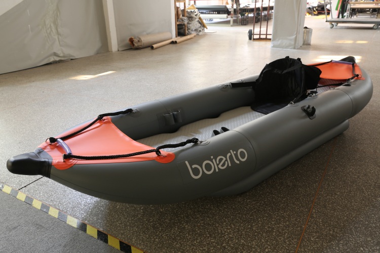 Made in china high quality folding fishing kayak for Fishing rafts for sale