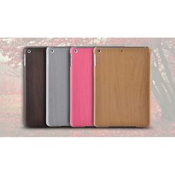 Remax Wood Texture Folio Smart Leather Wooden Case for iPad Air w/ Stand