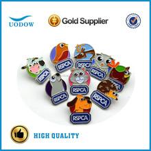 custom cute animals lapel pins