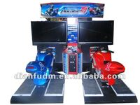 GP4 motorbike car racing simulation game machine