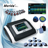 Pluse width adjustable electric muscle stimulation weight loss machine