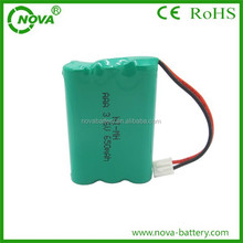 ni-mh aaa 650mah 3.6v rechargeable battery, 3.6v aaa nimh battery 650mAh