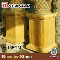 Newstar golden stone decorative pillar