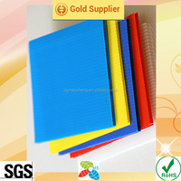 3mm thick plastic sheet PP corrugated sheets shock absord pp hollow sheets