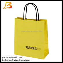 Custom Logo Printed craft Paper Bag with Best Price for Christmas/Shopping