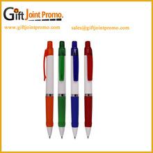 Custom Printing LOGO Cheap Plastic School Rubber Grip Ball Pen