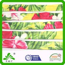 thermal dye sublimation custom print fold over elastic