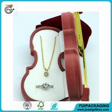 New design Top quality velvet vilion necklace present packaging box for wholesale