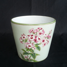 Wholesale Round Ceramic Flower Pot For Garden