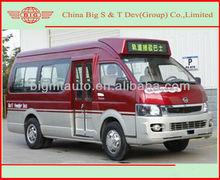 CKZ6581 Diesel engine mini bus