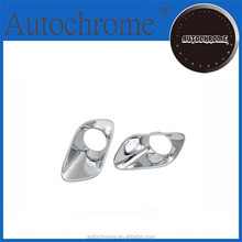 Chrome car trim accent styling Chrome Fog Light Cover for Jeep Cherokee (KL) 2014 UP