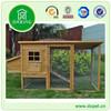 DXH011 Wooden Ramp Green Asphalt Roof Chicken Cages