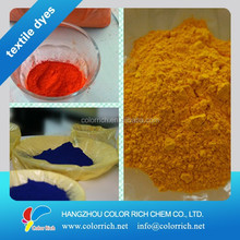 Disperse dyes yellow color formula for paint making