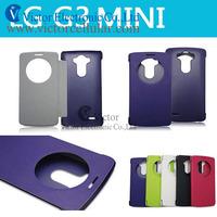 Mobile phones FLIP leather BEAT cases for LG Optimus G3 MINI