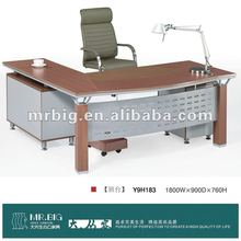 melamine top office furniture executive desk, Y9H183