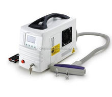 2014 the best machine for face speckle clear 1064nm, 532nm ruby laser tattoo removal machine