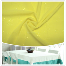 Good quality polyester spandex chair cover fabric
