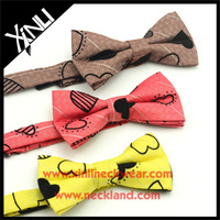 Cotton Printed Boys Kid Bowtie with Beautiful Colors Bow Tie Kids Boy