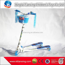 Wholesale Kids Frog Scooter , Three Wheel Scooter For Kids , Children Foot Scooter With Spider-man Picture
