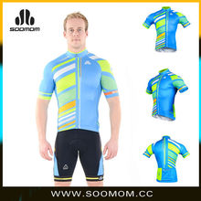 2015 new design fashion colorful men cycling clothing sets
