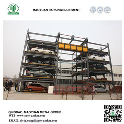 High quality actory manufacture rotary automated car parking system