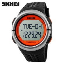 Wholesale stock calorie distance timer heart rate monitor wrist pedometer watch