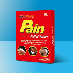 capsicum Pain relief plaster/Arthritis joint muscle back pain relief patch/medicated plaster patch OEM