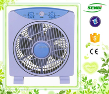 220v box fan 10'' inch crown electric box fan with 60 minutes timer