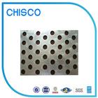 Chisco 2b/ba terminar dois milímetros de aço inoxidável tela metálica perfurada folha