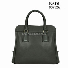 OL trendy design famous brand 100% genuine leather handbags guanzhou china wholesale bags